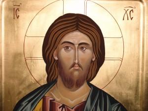 Икона на Господ Иисус Христос рисувана от сестрите